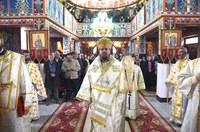 Episcopul Oradiei a slujit în biserica Sfântul Apostol Andrei din Beiuș