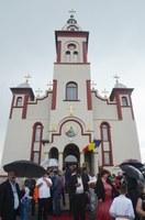 Episcopul Oradiei la hramul bisericii parohiale din Subpiatră