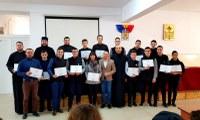 "Europarlamentarul Emilian Pavel la  Liceul Ortodox ""Episcop Roman Ciorogariu"""