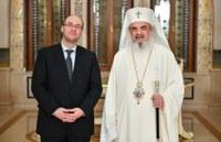 Excelenţa Sa Davor Ivo Stier, Viceprim-ministru şi Ministrul Afacerilor Externe şi Europene al Republicii Croaţia, în vizită la Patriarhia Română