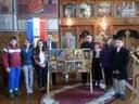 Expoziție de icoane pe sticlă în Parohia Beznea
