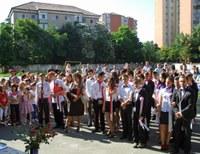 Festivitate de absolvire a claselor a VIII-a la Liceul Ortodox din Oradea