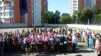 Festivitate de absolvire a studiilor gimnaziale la Liceul Ortodox din Oradea