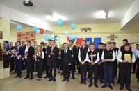 """Festivitate de absolvire pentru a șaptea promoție a  Liceului Ortodox """"Episcop Roman Ciorogariu"""" din Oradea"""