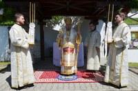 Înălțarea Domnului și Ziua Eroilor sărbătorite la  biserica Înălțarea Domnului din Oradea