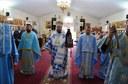 Intrarea în Biserică a Maicii Domnului prăznuită în Parohia Palota