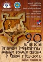 Învăţământul teologic ortodox de grad universitar din Oradea la ceas aniversar