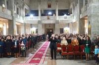 Liturghie arhierească în biserica parohială din Marghita II