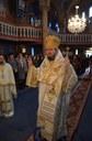 Liturghie arhierească în biserica parohială din Mierlău