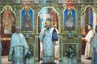 Liturghie arhierească în biserica parohială din Oradea-Vii