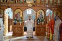 Liturghie arhierească în biserica parohială din Sânmartin