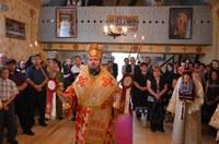Liturghie arhierească în Filia Valea Mare de Codru, Parohia Miheleu