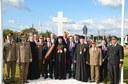 Liturghie arhierească în Parohia Ciumeghiu și sfințirea Monumentului Eroilor din Parohia Gepiu