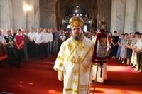Liturghie arhierească în Parohia Salonta II