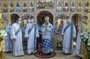 Liturghie arhierească la hramul bisericii din satul Palota