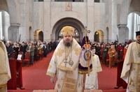 Liturghie arhierească la împlinirea a 9 ani de la întronizarea  Preasfințitului Părinte Sofronie la Oradea