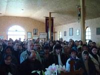 Liturghie arhierească la Mănăstirea Izbuc în Duminica a patra din Sfântul şi Marele Post