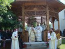 Liturghie arhierească la Mizieş