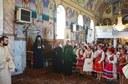 Liturghie arhierească și binecuvântarea noii case parohiale  în Parohia Ghighişeni