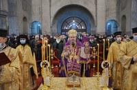 Liturghie arhierească și Te Deum în onoarea  Unirii Principatelor Române la Catedrala Episcopală din Oradea