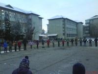 """Mica Unire sărbătorită la Liceul Ortodox  """"Episcop Roman Ciorogariu"""", din Oradea"""