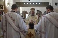 Noua biserică parohială din Oradea-Nufărul I  și-a sărbătorit hramul principal