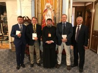 Oaspeți americani la Reședința Episcopală din Oradea