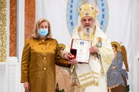 Părintele Patriarh a oferit daruri pentru Catedrala din Oradea, distincții pentru lucrători și filantropi