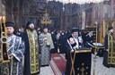 Partea a patra din Canonul cel Mare citită de Chiriarhul Oradiei la Mănăstirea Sfânta Cruce din Oradea