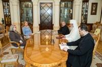 Patriarhul României a primit vizita ambasadorului Israelului la Bucureşti