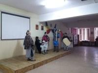 Piesa de teatru Încreștinarea dacilor   la Liceul Ortodox din Oradea