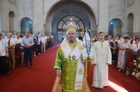 Pogorârea Duhului Sfânt prăznuită la Catedrala Episcopală din Oradea