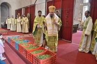 Praznicul Intrării Domnului în Ierusalim la Catedrala Episcopală din Oradea