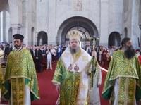 Praznicul Pogorârii Duhului Sfânt la Catedrala Episcopală din Oradea