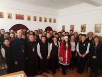 """Prăznuirea Sfântului Apostol Iacov la Paraclisului Liceului Ortodox """"Episcop Roman Ciorogariu"""" din Oradea"""