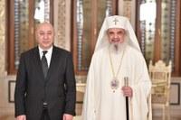 Preafericitul Părinte Patriarh Daniel a primit  vizita ambasadorului Georgiei în România
