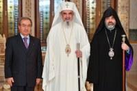 Preafericitul Părinte Patriarh Daniel a primit vizita ambasadorului Republicii Armenia în România