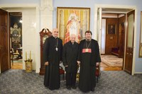 Preasfințitul Părinte Sofronie a primit vizita Cardinalului Francesco Coccopalmerio