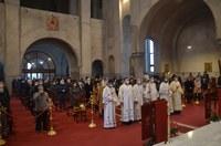 Preasfințitul Sofronie a slujit la Catedrala Episcopala din Oradea în Duminica a treizecea după Rusalii