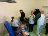 Preoți și credincioși din Protopopiatul Beiuș au donat sânge