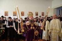 Prezență arhierească la Liceul Ortodox din Oradea de sărbătoarea Sfinților Trei Ierarhi