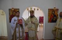 Prima Liturghie arhierească în noul paraclis din Parohia Holod,  Protopopiatul Tinca