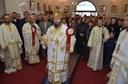 Prima Sfântă Liturghie arhierească în noua biserică din parohia bihoreană Băile Felix