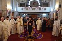 Prima Sfântă Liturghie arhierească în noua biserică din parohia bihoreană Rontău