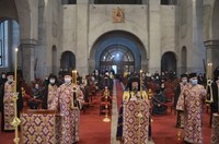 Prima zi a Canonului celui Mare  la Catedrala Episcopală din Oradea