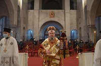Prima zi a noului an civil petrecută în rugăciune arhierească la  Catedrala Episcopală din Oradea