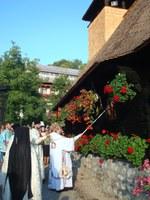 Resfinţirea bisericii de lemn de la Mănăstirea Izbuc