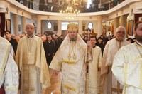 Sărbătoare la biserica Sfinții Trei Ierarhi din Oradea