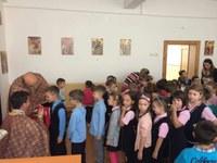 """Sărbătoarea Înălţării Sfintei Cruci la  Liceul Ortodox """"Episcop Roman Ciorogariu"""" din Oradea"""