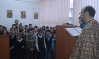 """Sărbătoarea Sfântului Ierarh Nicolae la  Liceul Ortodox """"Episcop Roman Ciorogariu"""" din Oradea"""
